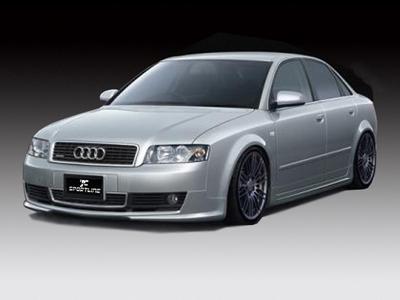 Name︰ Audi A4 B6 s line body kit- Front Bumper Lip