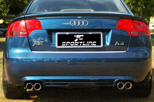 Audi A4 B7 2006 2007 Rear Spoiler A4 B7 Trunk Lip Spoiler