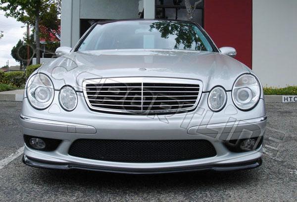 Benz W211 Amg E55 Carlsson Carbon Fiber Front Lip