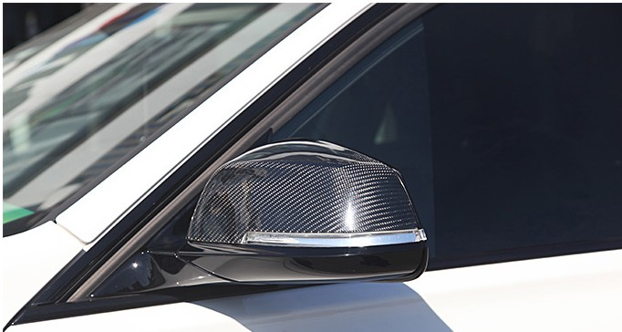 Bmw E87 F20 F30 F35 Carbon Fiber Mirror Cover Bmw F30