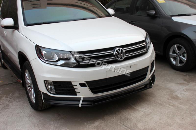Volkswagen Tiguan R Fiberglass Front Spoiler