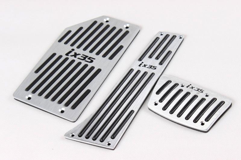 Clutch Pad Material : Car inside aluminum clutch pedal pad for hyundai ix