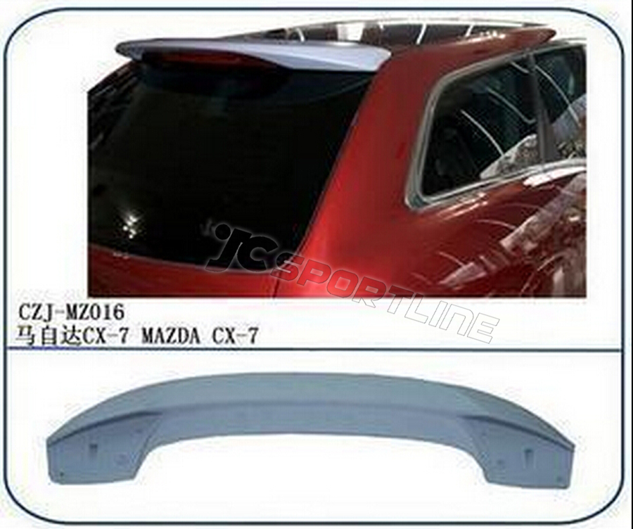 UNPAINITED 07-12 CX-7 SUV OEM STYLE REAR TRUNK ABS SPOILER