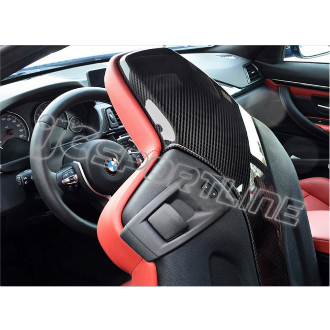 F82 M4 F80 M3 Carbon Fiber Back Seat Cover Fit For Bmw