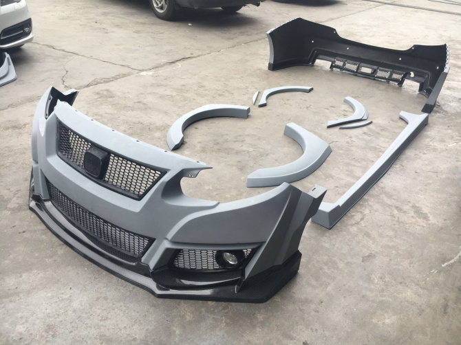 16 17 Honda Civic 10th Type R Body Kit