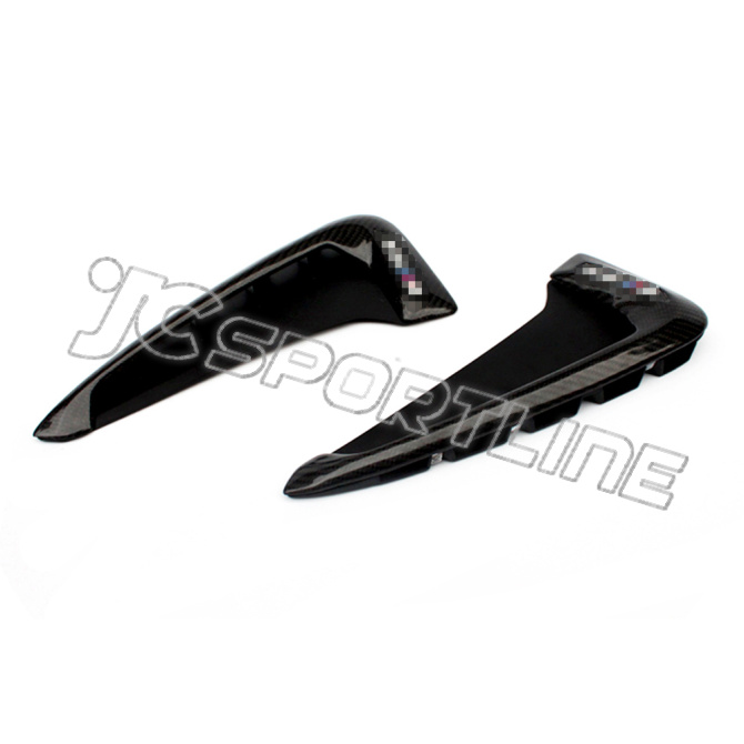 15 16 Carbon Replacement Side Air Vent Fender Trims For
