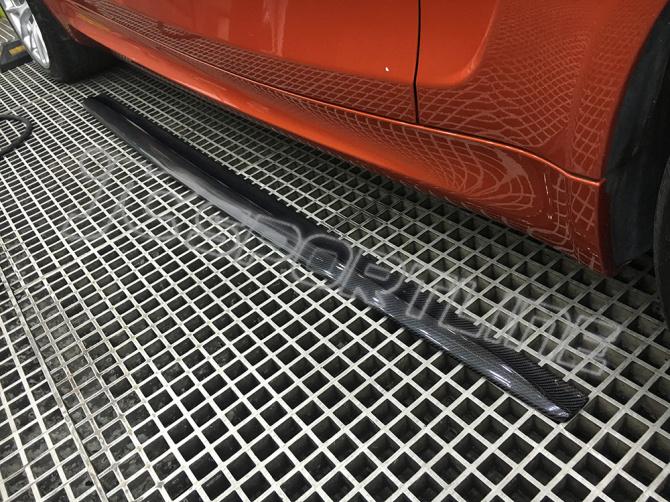 Lexus Oem Parts >> Carbon Fiber Car Side Skirts Extension for BMW 1Series ...