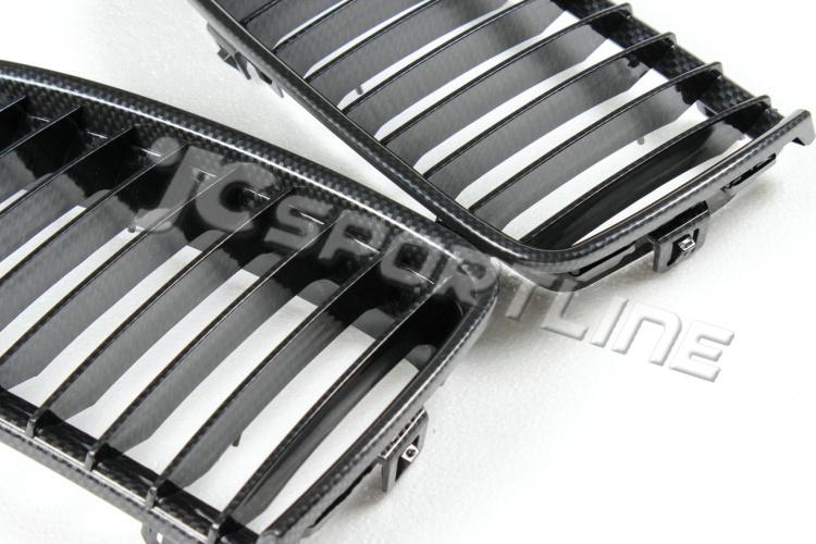 Bmw E90 05 08 Fake Carbon Fiber Grill