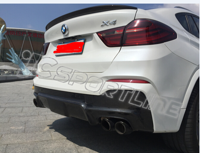 3d Style 15 16 Xdrive X4 Rear Diffuser For Bmw X4 F26 Fits