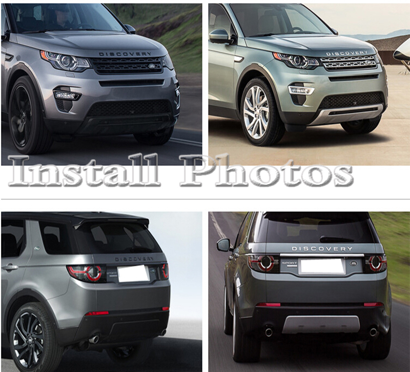 Land Rover Discovery Sport >> front rear bumper board guard skid plate protector bar 2016 fit for range rover freelander